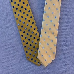Brooks Brothers Pure silk Set of 2 Ties